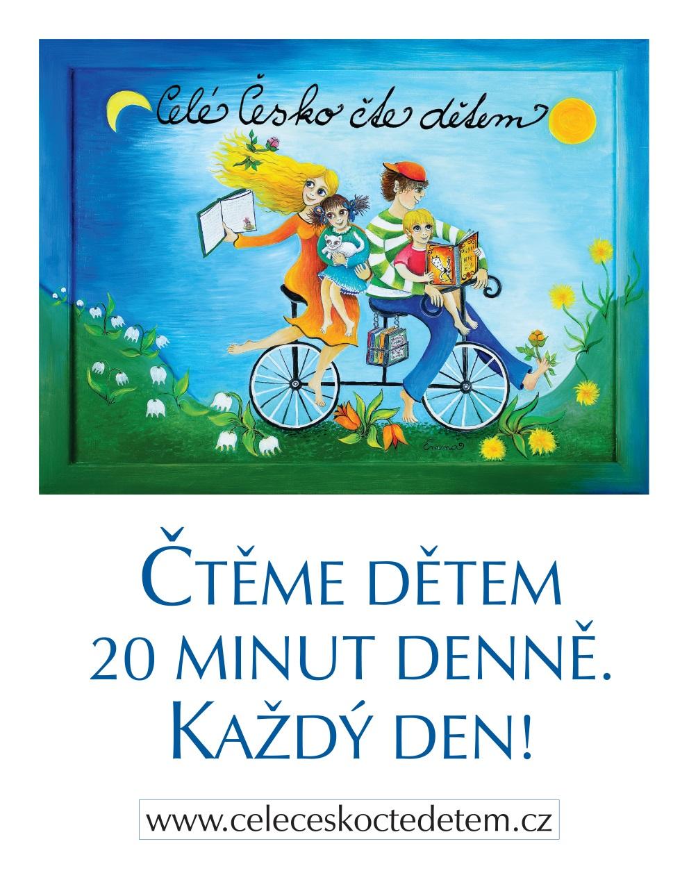 Plakát Čtěme dětem