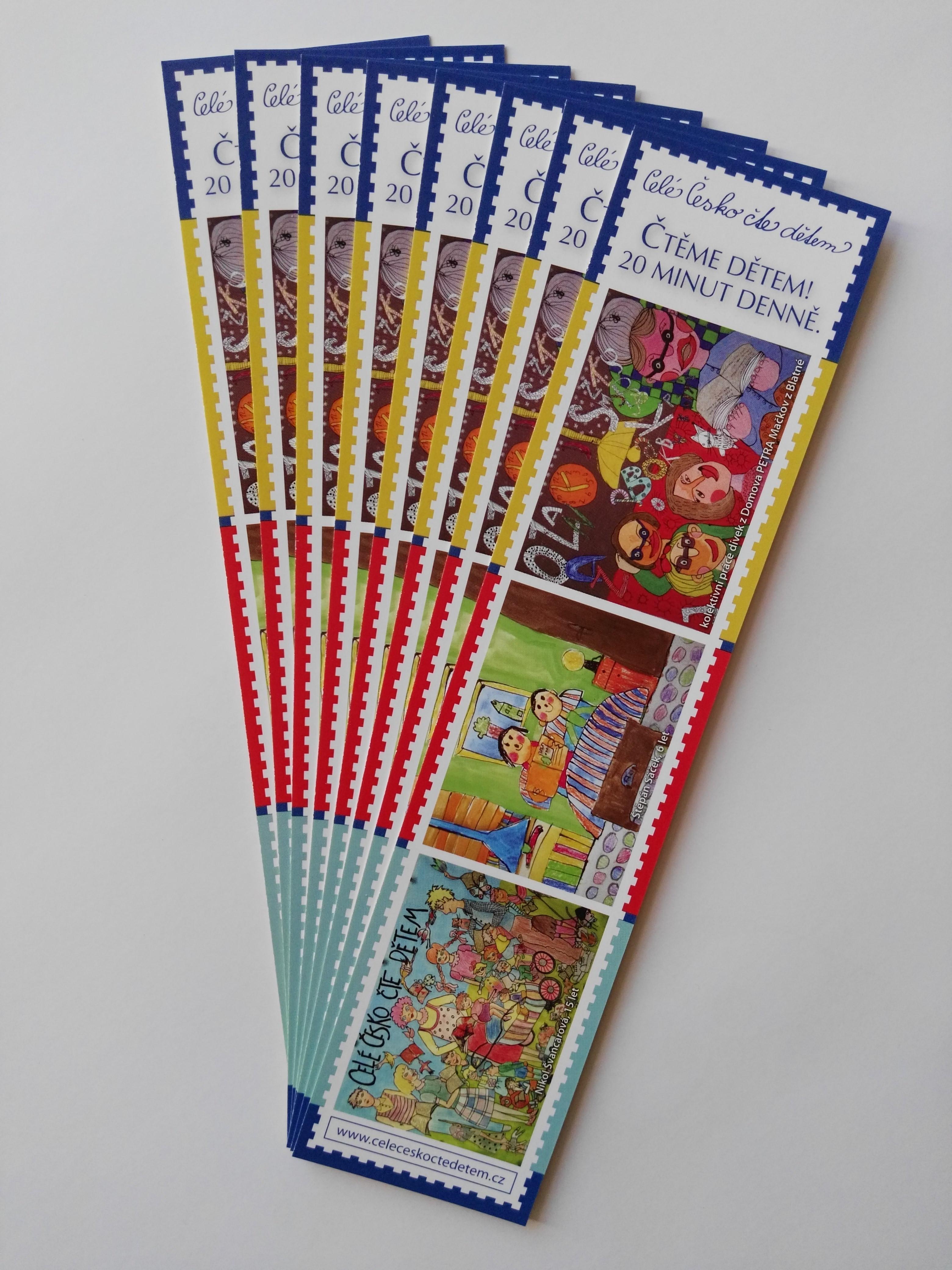 Záložka Celé Česko čte dětem - Dětské výkresy