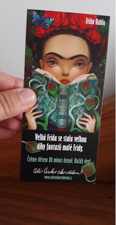 Záložka - Malá Frida