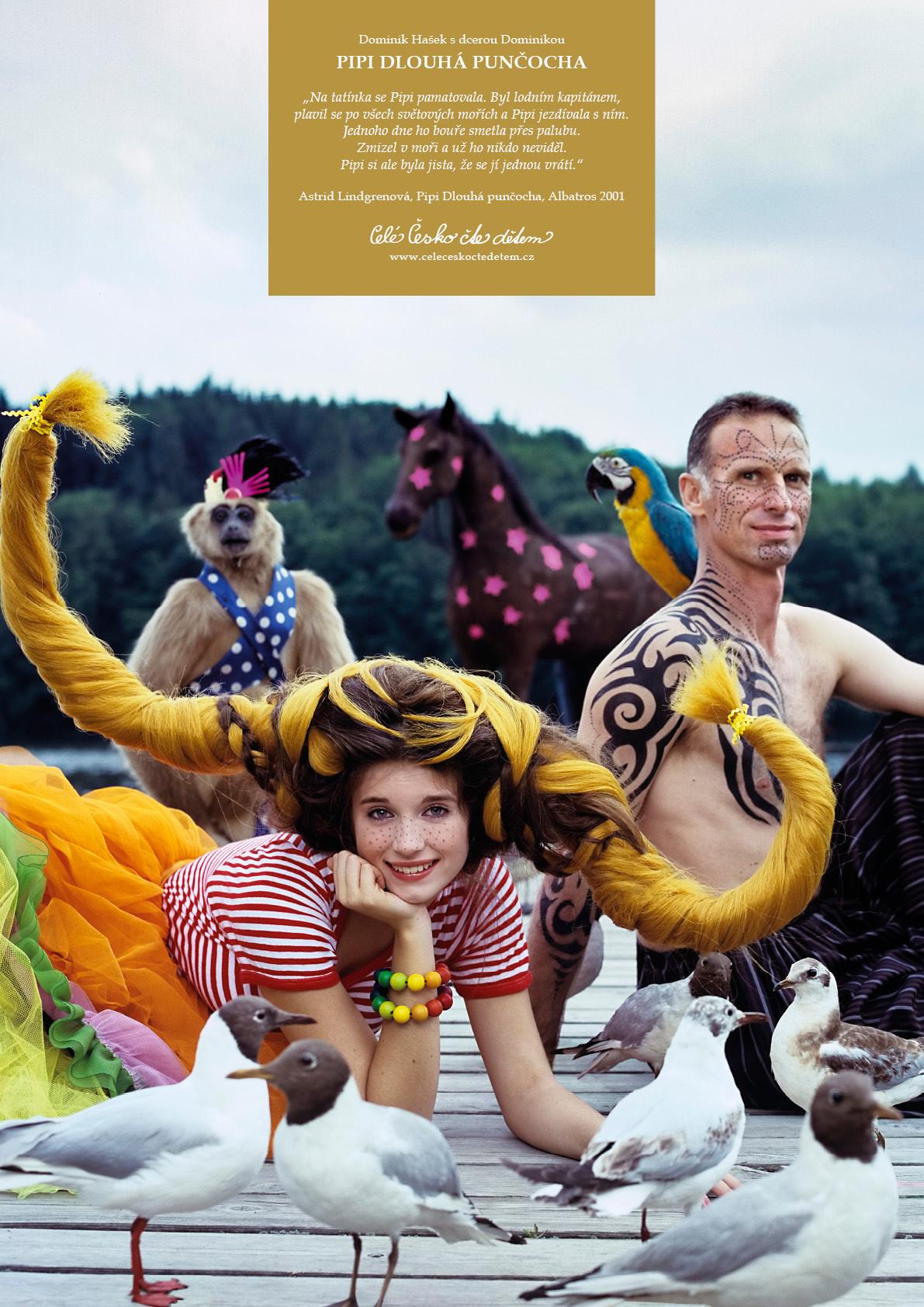 Plakát Pipi Dlouhá punčocha -A3