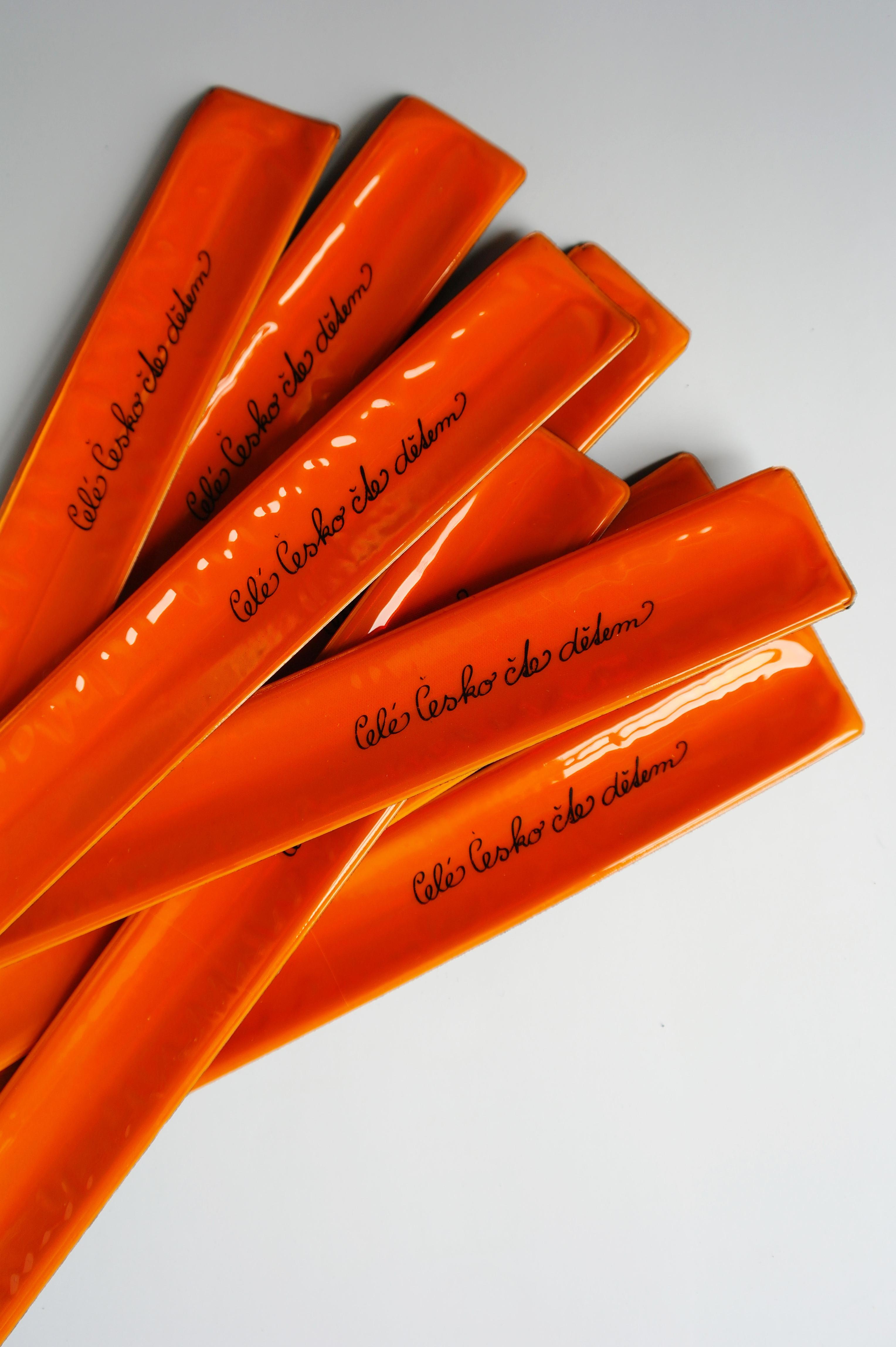 Reflexní páska oranžová