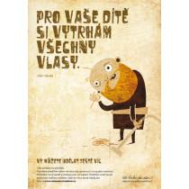 Plakát Děd Vševěd