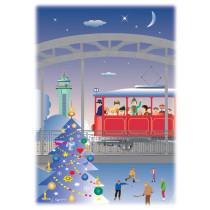 Vánoční pohlednice - Ostrava