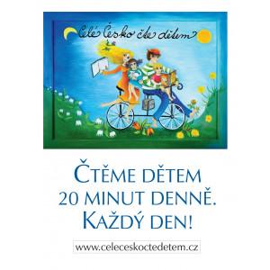 Plakát Čtěme dětem  A4