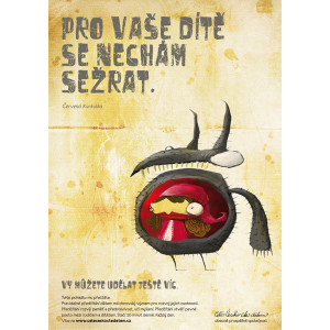 Plakát Červená Karkulka