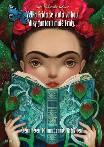 Nová taška s vyobrazením Fridy Kahlo
